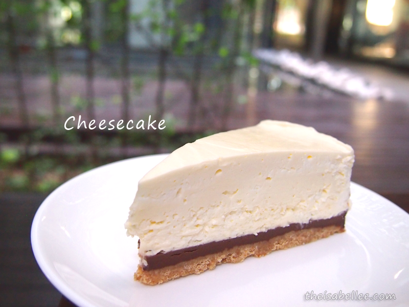 Three Little Birds Coffee cheesecake