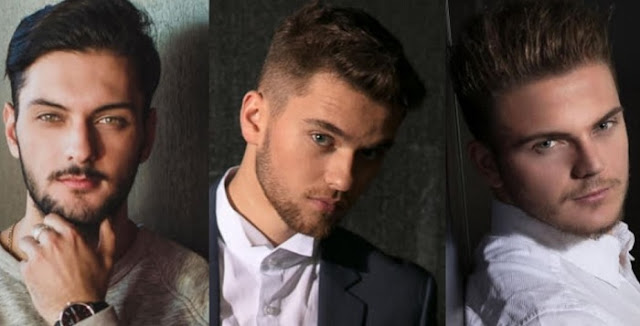 "Five Albanian boys competing for ""Mister Francophone Switzerland 2017"""