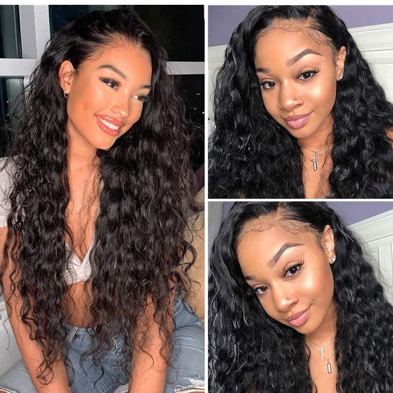50%OFF Loose Wave Human Hair 13X4 Lace Front Wigs for Women