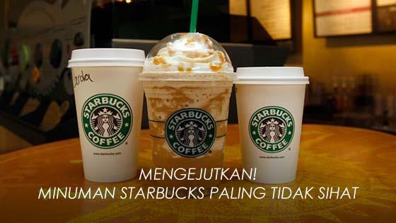 Minuman Starbucks Mengandungi 25 Sudu Gula Dalam Setiap Hidangan