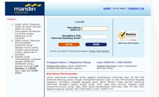 bayar kode billing via internet banking
