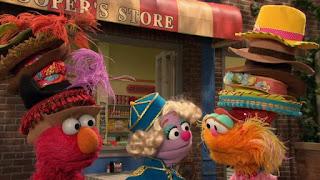 Elmo, Zoe, Sesame Street Episode 4312 Elmo and Zoe's Hat Contest season 43