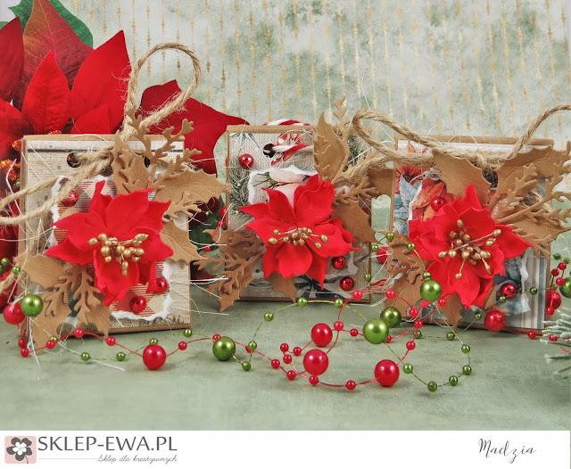Pudełeczka na świąteczne upominki