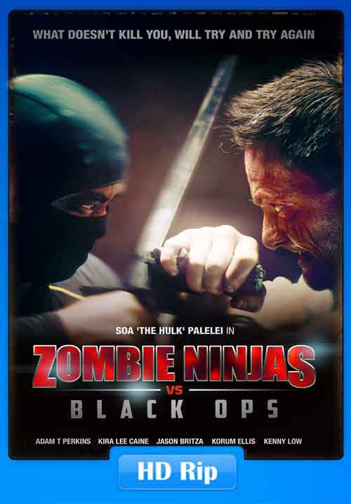 Zombie Ninjas vs Black Ops 2015 HDRip Poster