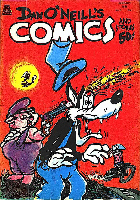 a Dan O'Neill comic book 1971 violence