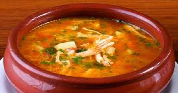 Sopa Canja de Galinha (Imagem: Reprodução/Internet)