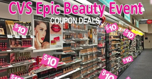 CVS Epic Beauty Event Gift Card Deals
