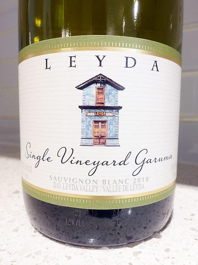Leyda Garuma Single Vineyard Sauvignon Blanc 2018 (90 pts)