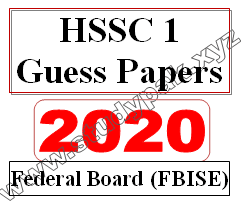 class 11 guess papers for federal board