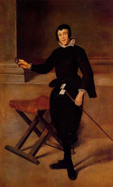 Диего Веласкес - Шут Хуана де Калабазеса (1628-1629)