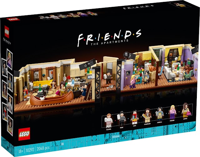 New 2,048-piece LEGO F.R.I.E.N.D.S Apartments Set out now