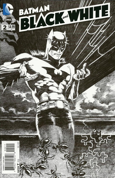 DYNAMIC BATMAN COVER BY JIM STERANKO !!!