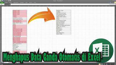 Cara Menghapus Data Ganda atau Duplikat di Microsoft Excel 2010