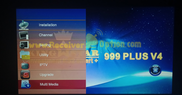 KING STAR 999 PLUS V4 1507G 1G 8M NEW SOFTWARE WITH GO SAT PLUS V2 7 MAY 2021