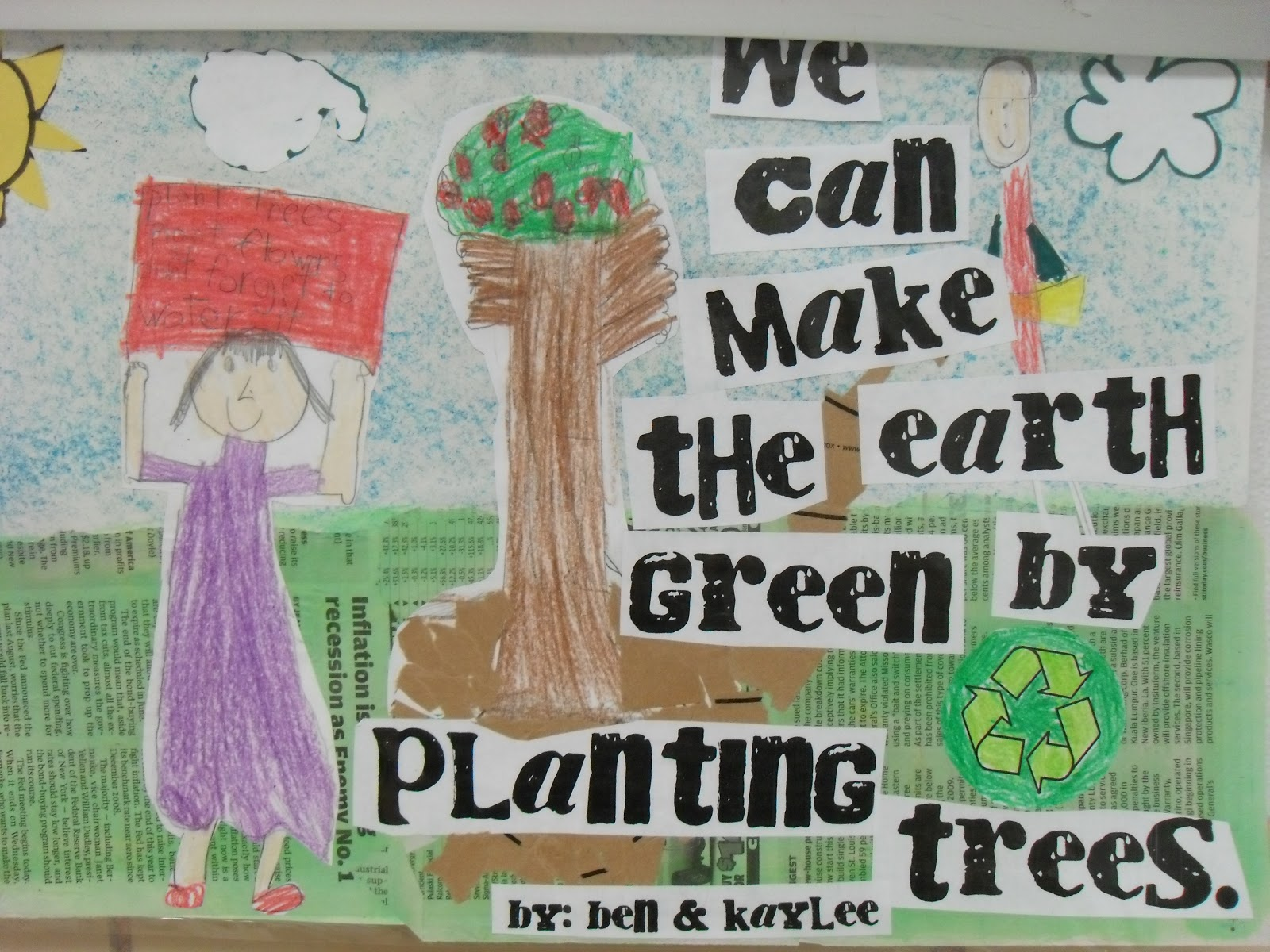 First Grade Fever By Christie Save Our Earth