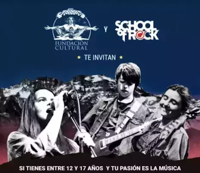 Los Jaivas y School of Rock lanzan beca para aprender música