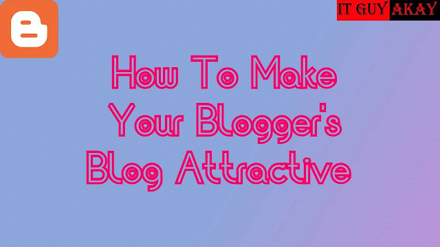 blogger blog template