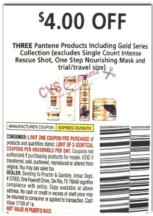 pantene $4 off 2 PG coupon