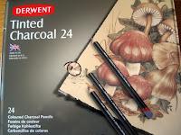 Derwent Tinted Charcoal tin