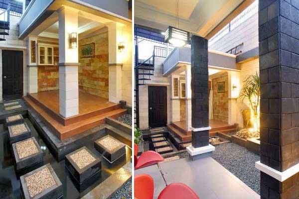 desain mushola di rumah dan 3 kamar tidur