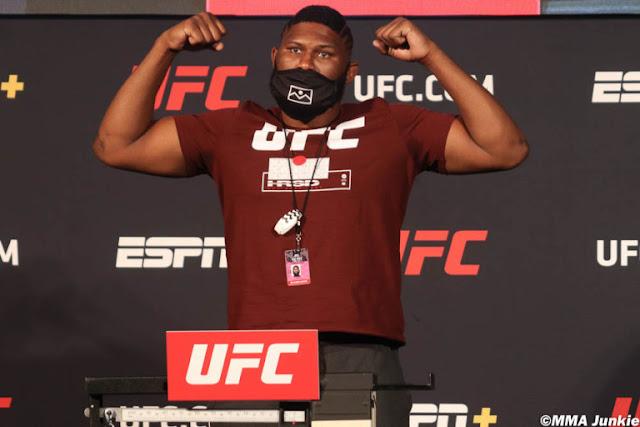 Curtis Blades UFC On ESPN 11 Weigh In