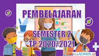 Pembelajaran Semester 2 2020 2021 Sekolah Purworejo