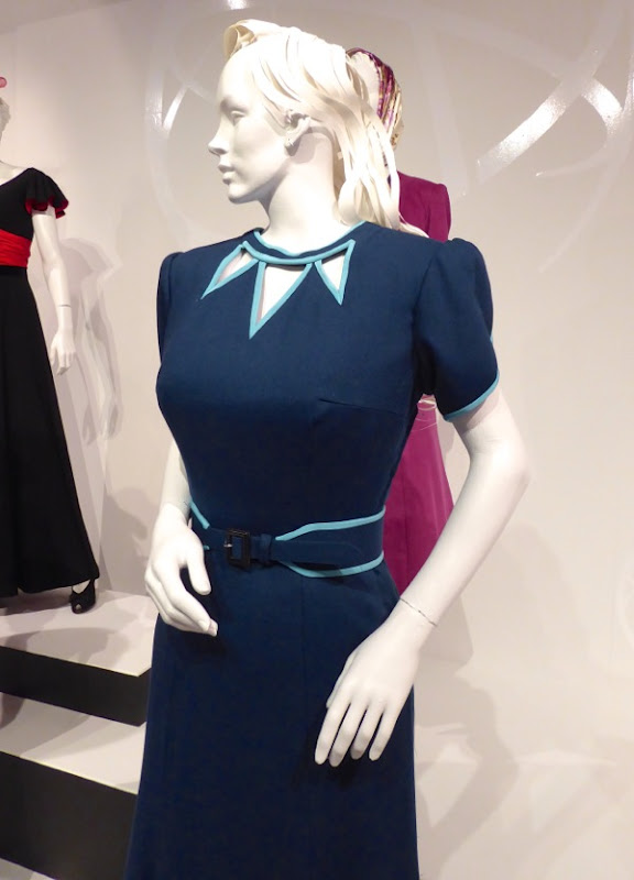 Agent Peggy Carter season 2 blue dress