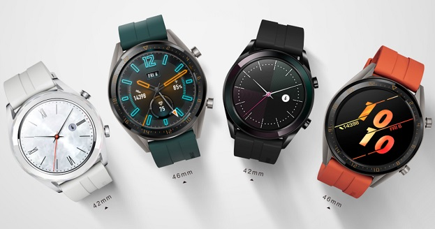 Huawei Watch GT Elegant and Active Edition - Saudi Arabia
