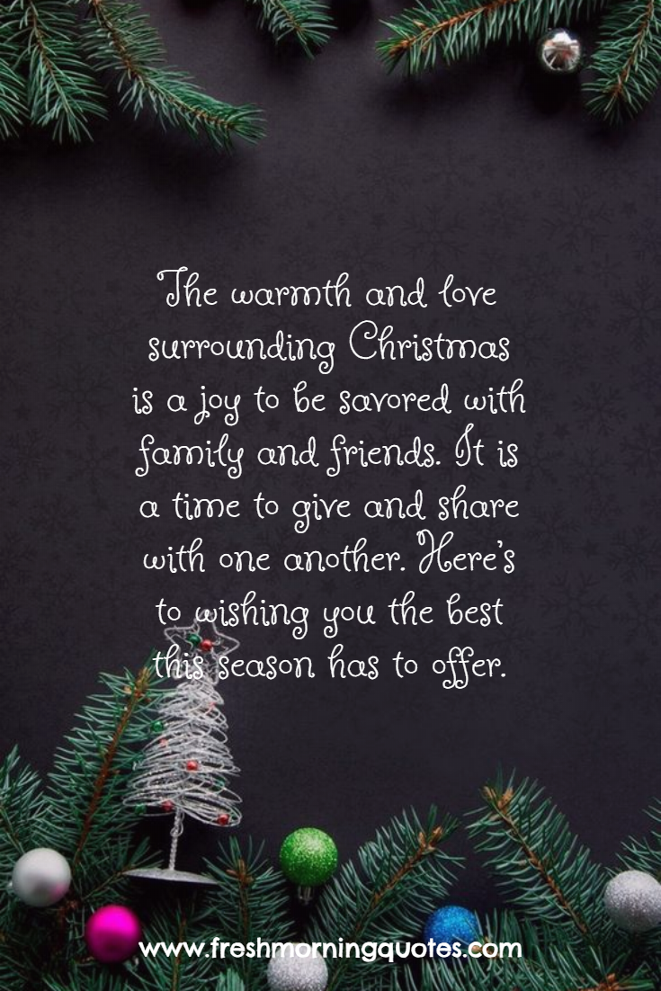 the warmth and love surrounding Christmas