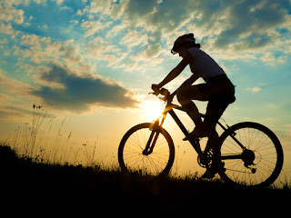 Photo:- Cycling