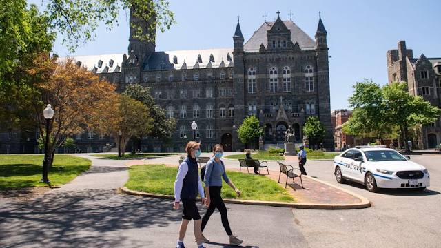 Members Of Georgetown Minority Mentorship Program Resign, Claiming Racism