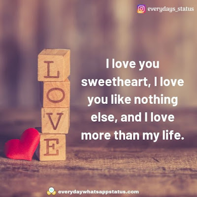 i love you images | Everyday Whatsapp Status | Unique 50+ love quotes image about life