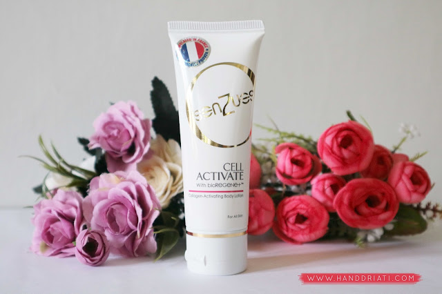 Review SenZues Cell Activate With bioRegene+ Body Lotion