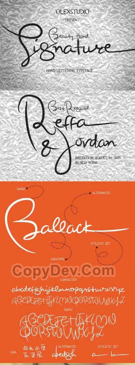 CreativeMarket Premium Fonts Pack