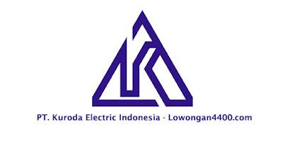 Lowongan Kerja PT. Kuroda Electric Indonesia Cikarang Bekasi