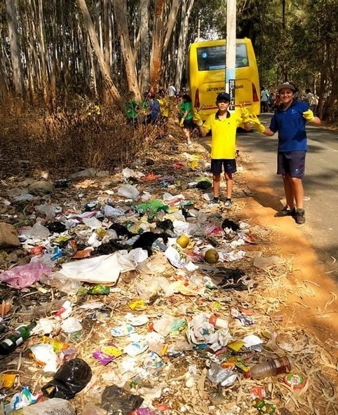 CIS students undertake 'The Garbage Challenge' to celebrate World Environment Day