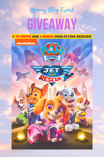 Paw Patrol Jet to the Rescue Review Giveaway
