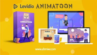 Template animatioon dari levidio