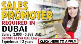 Sales Promoter Jobs Recruitment in Retailing Industry Dubai