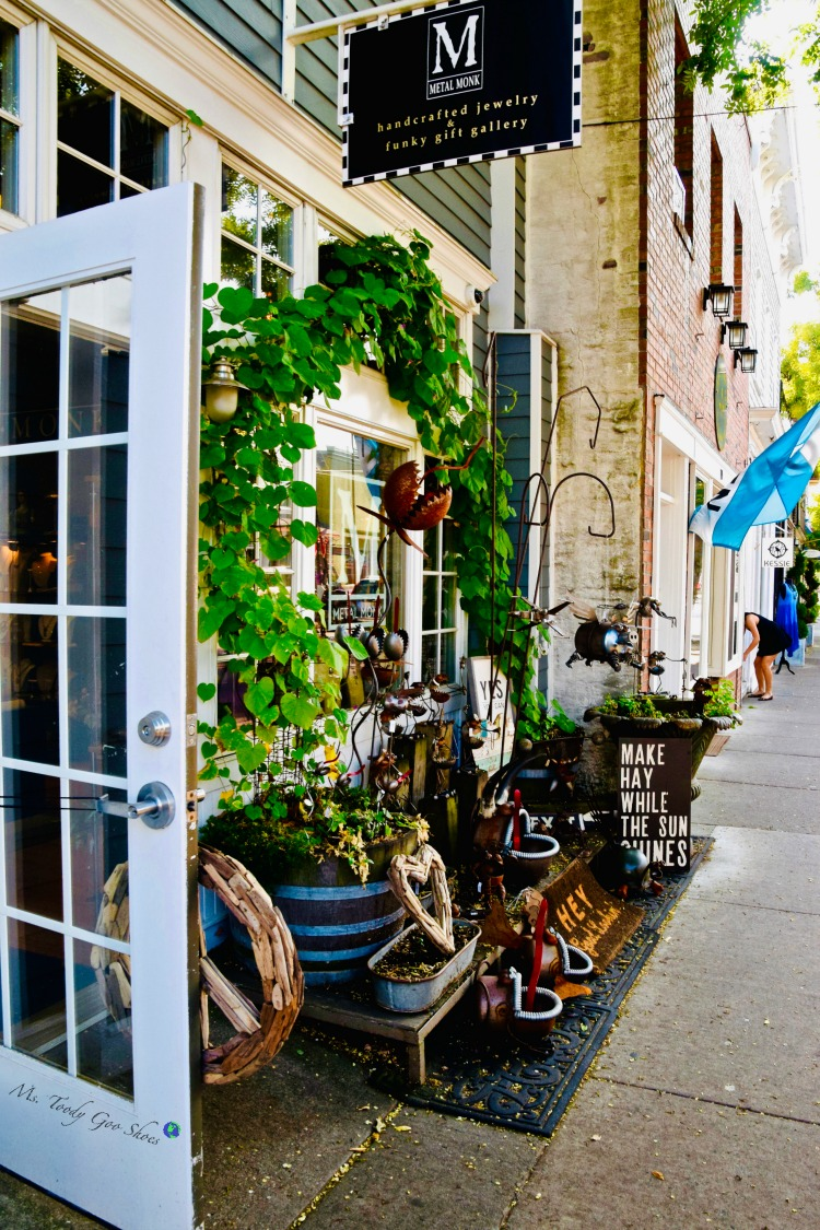 Greenport, NY, on Long Island's North Fork, is an idyllic village with picturesque marinas, upscale restaurants and unique shops. It's the perfect getaway. | Ms. Toody Goo Shoes #greenport #northfork