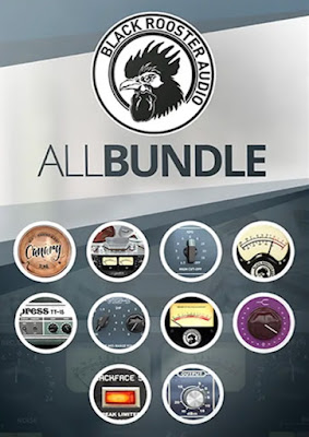 Cover do pacote de Plugins Black Rooster Audio - The ALL Bundle 2.5.5
