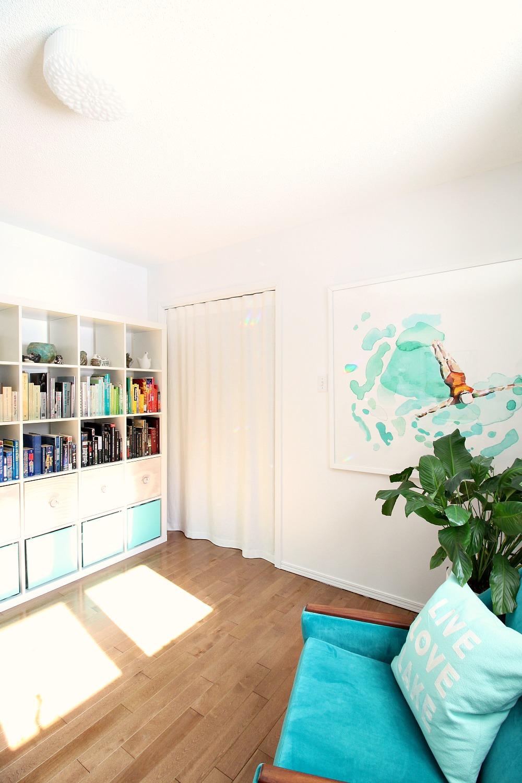 DIY Modern Curtain