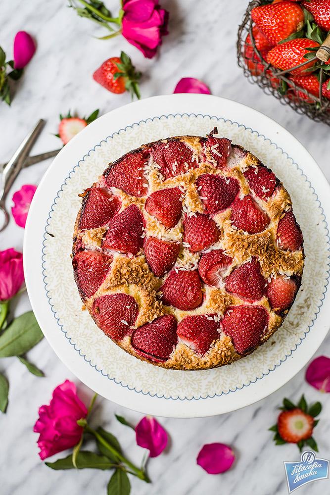 Ciasto z owocami bez glutenu
