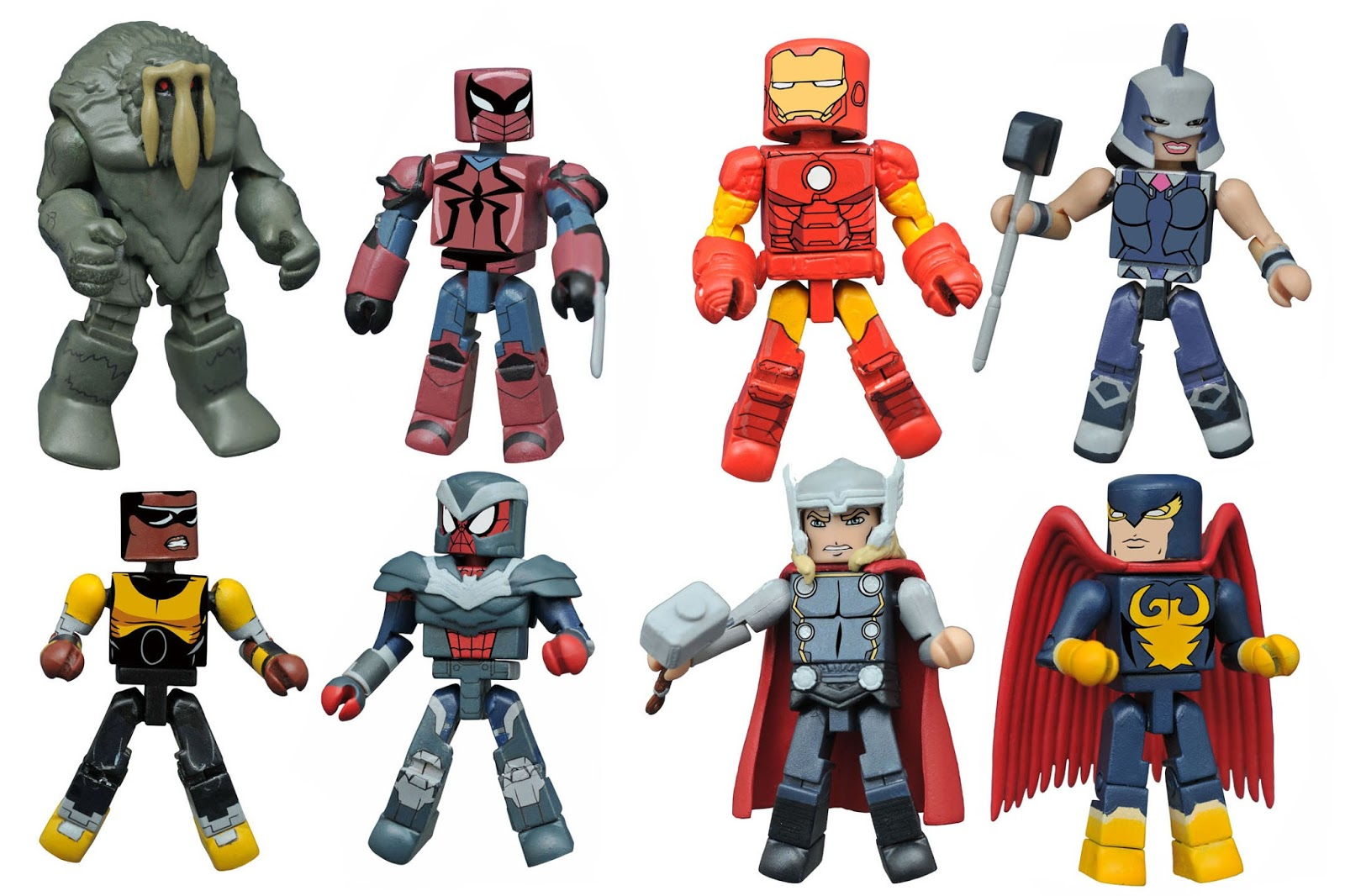 DST\'s Walgreens Exclusive MARVEL ANIMATED MINIMATES Series 2.5 ...