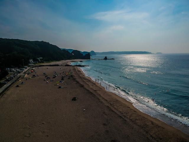 Kiszami Óhama strand