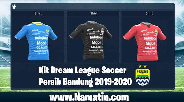 Kit Dream League Soccer Persib Bandung 2020