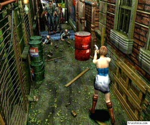 Download Resident Evil3 Nemesis iso