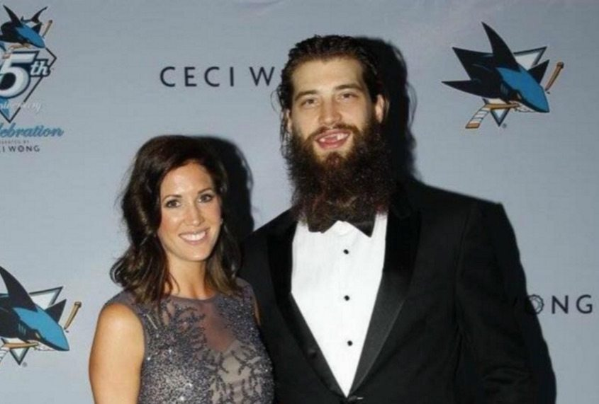 Brent Burns Wife Susan Holder Was His Longtime Girlfriend
