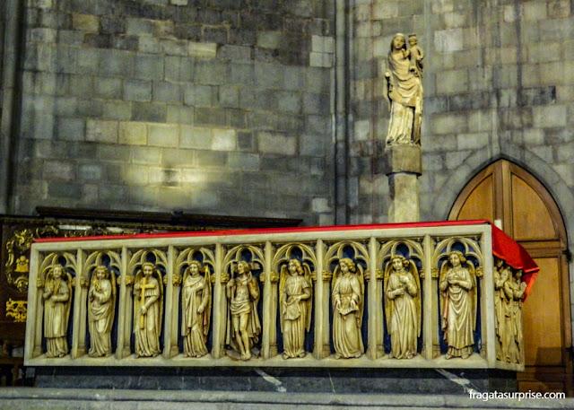 Altar da Igreja de Santa Maria del Pi, Barcelona