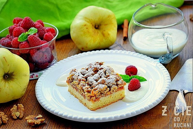 szarlotka, dodmowe ciasto, jabłka, szarlotka babci, ciasto z jablkami, blog, zycie od kuchni